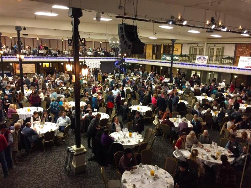 Attendees at Montana Cowboy Hall of Fame Inductee event 2018
