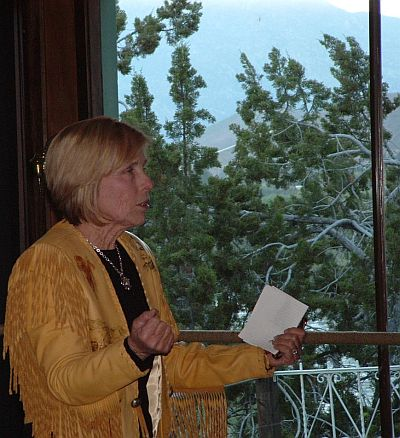 Linda Lou Crosby - Evening at Ewings in Kernville, CA