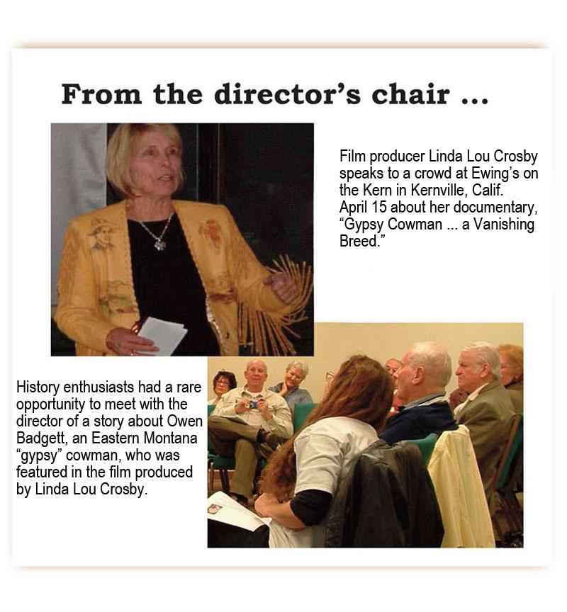 Linda Lou Crosby at Ewings in Kernville April 15, 2011
