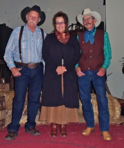 Owen Badgett, Francie Gage, Bob Petermann in Spearfish, SD at Western Plains Heritage Center, October 21, 2010