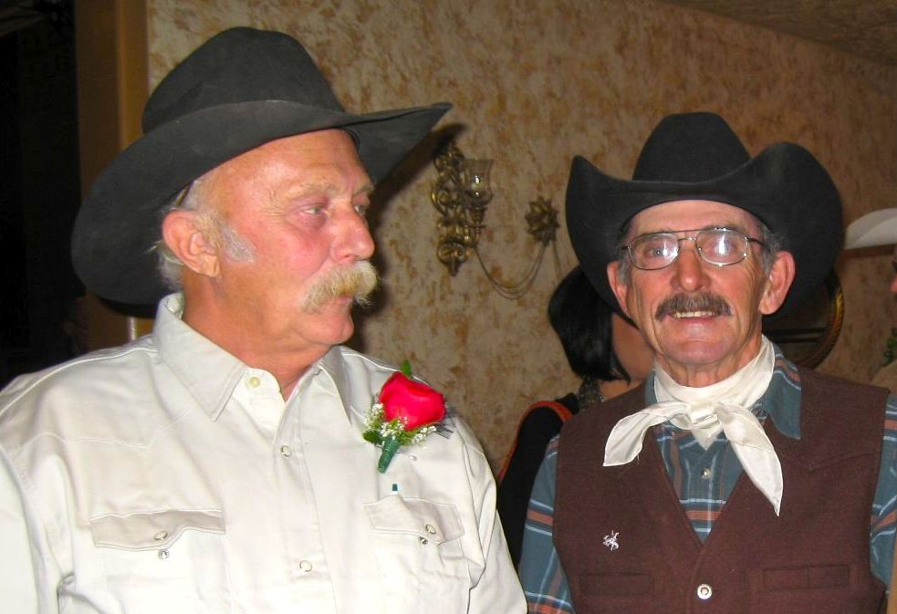 Cowboy Poet Owen Badgett and Musician Bob Petermann