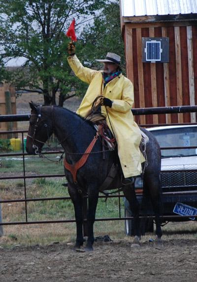 Ingomar Ranch Rodeo rain slicker