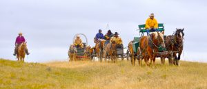 Weather wagons and riders