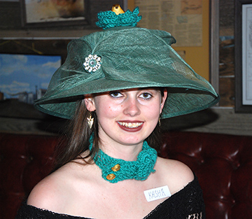Jersey Lilly Tea judges' pick for hat winner