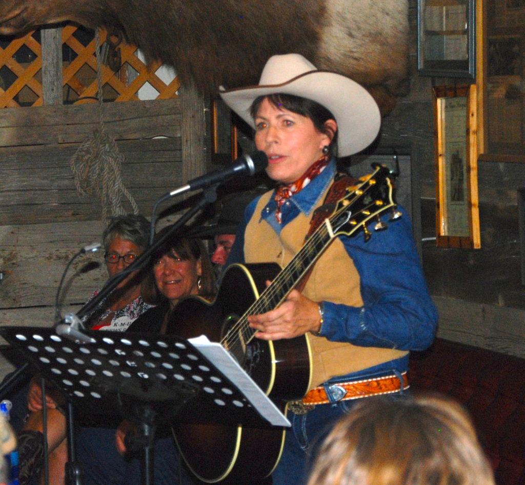 Western singer Almeda Bradshaw