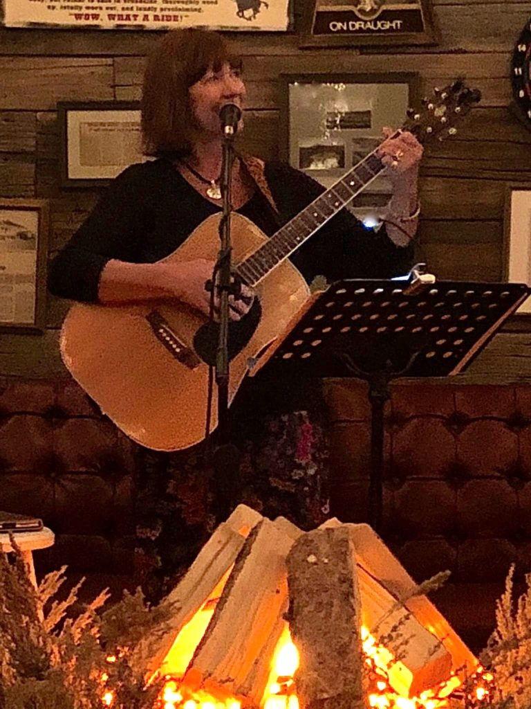 Sandy Matheny Fennessy sings Campfire Waltz
