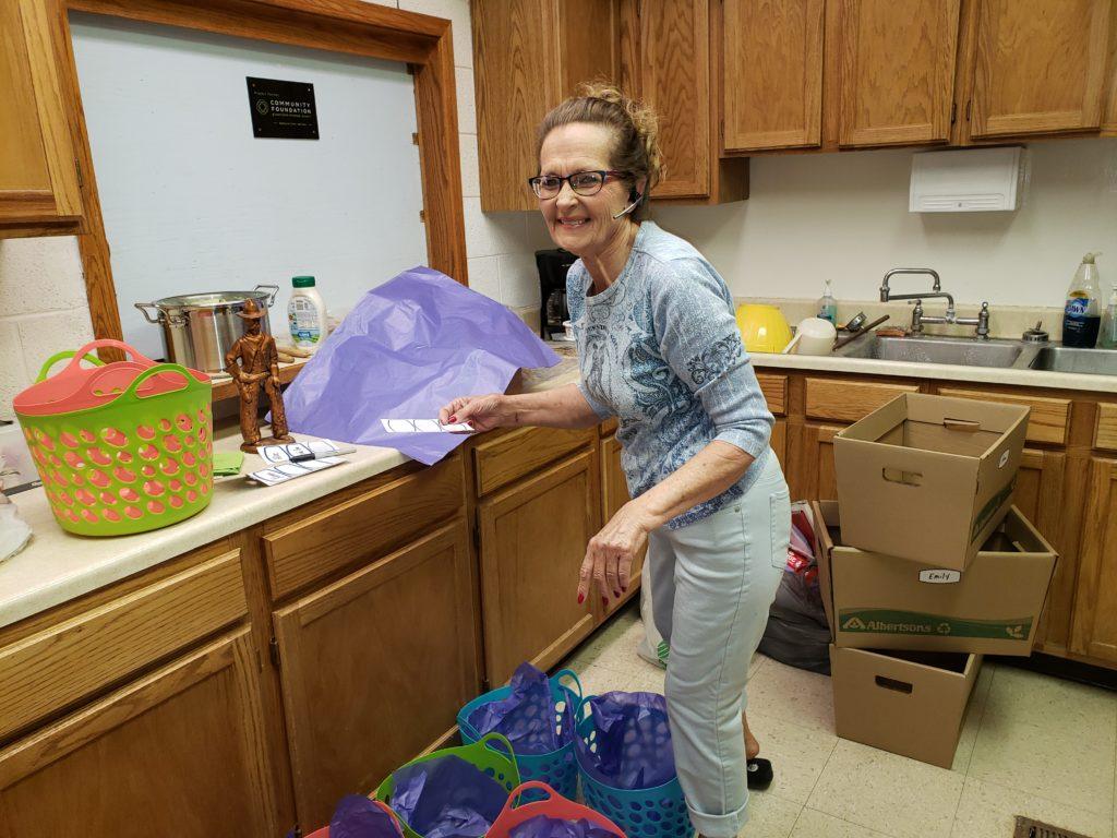 Ingomar Traveling Tea Party preparations