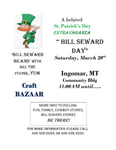 Bill Seward Day; March 20th, 2021